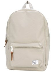 Herschel Supply Co. Canvas Backpack Women Polyester One Size Nude Neutrals
