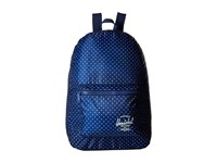Herschel Packable Daypack Limoges White Polka Dot Backpack Bags Blue
