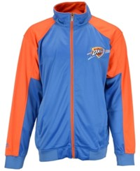 Majestic Men's Oklahoma City Thunder Geo Track Jacket