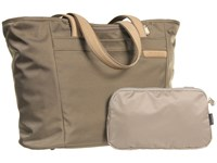 Briggs And Riley Baseline Large Shopping Tote Bag Olive Tote Handbags