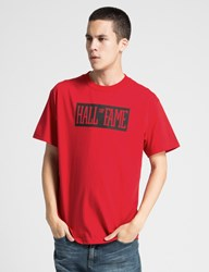 Hall Of Fame Red Your Name T Shirt