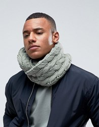 7X Cable Snood Green