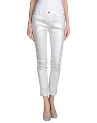 Who S Who Denim Denim Trousers Women Gold