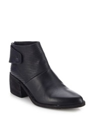 Ld Tuttle The Knife Leather Point Toe Booties Black