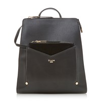 Dune Ducky Removable Front Pouch Backpack Black