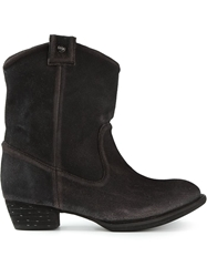 Diesel Cowgirl Boots Black