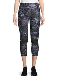Marika Josie Verdant Mid Calf Leggings Black Multi