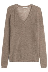 Mes Demoiselles Pullover With Alpaca Green