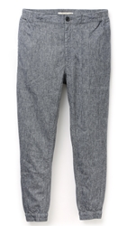 Shades Of Grey Woven Joggers Indigo Chambray