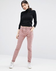 Vero Moda Antifit Black Skinny Trousers Leg 34 Nostalgia Rose Pink