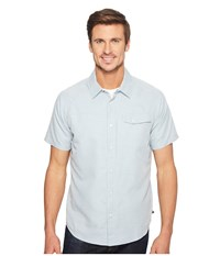 Mountain Hardwear Technician Short Sleeve Shirt Phoenix Blue Men's Short Sleeve Button Up
