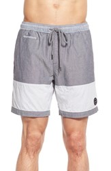 Men's Volcom 'Threezy Jammer' Hybrid Colorblock Shorts