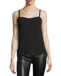 Cnc Costume National Sweetheart Neck Slim Fit Camisole Black Women's
