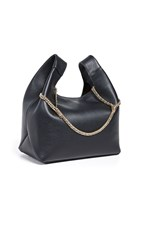 Hayward New Chain Bag Black Pebble