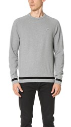 Fred Perry Sports Authentic Pullover Steel Marl