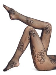 Wolford Net Lace Tights Black