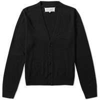 Maison Martin Margiela 14 Elbow Patch Cardigan Black