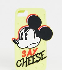 Skinnydip X Disney Say Cheese Silicone Iphone Case 6 7 8 S Yellow