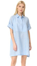 Acne Studios Sena Shirtdress Light Blue
