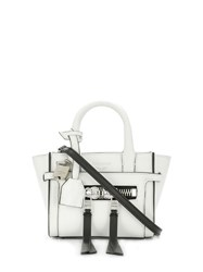 Zadig And Voltaire Candide Mini Bag White