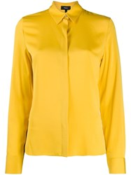 Theory Regular Fit Blouse Yellow