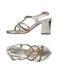 Apepazza Sandals Gold