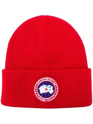 Canada Goose Artic Disc Toque Beanie Red