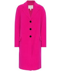 Marc Jacobs Oversized Wool Blend Coat Pink