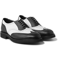 Junya Watanabe Tricker's Two Tone Leather Brogues
