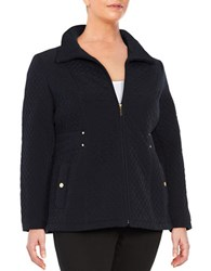 Gallery Plus Quilted Jacket Ink Navy