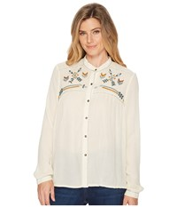 Double D Ranchwear Makin' Tracks Top String Clothing Neutral