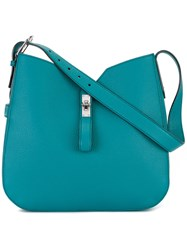 Bally Adjustable Shoulder Bag Blue