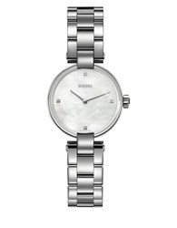 Rado Diamond And Stainless Steel Watch Silver