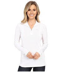 Ariat Sunstopper Top White Women's Long Sleeve Pullover