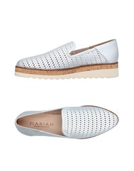 Marian Loafers Silver