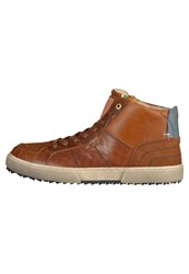 Pantofola D'oro D Oro Hightop Trainers Tortoise Shell Brown