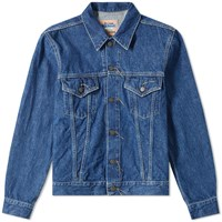 Acne Studios Trash 1998 Denim Jacket Blue