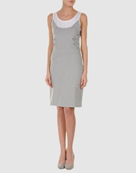 Bea Yuk Mui Bea Short Dresses Light Grey