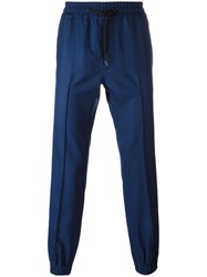 Marc Jacobs Tailored Track Pants Blue