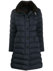 Moorer Quilted Mid Length Coat 60