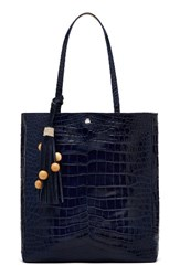 Elizabeth And James Eloise Croc Embossed Leather Tote