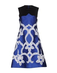 Ostwald Helgason Dresses Knee Length Dresses Women Blue