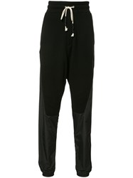 Mostly Heard Rarely Seen Paneled Track Pants Black