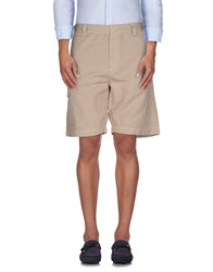 Pirelli Pzero Trousers Bermuda Shorts Men Beige