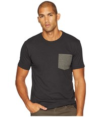 Prana Pocket Black T Shirt