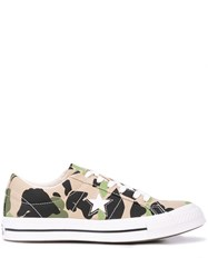 Converse One Star Ox Low Top Trainers Green