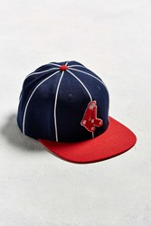 American Needle Big Show Boston Red Sox Baseball Hat Blue Multi