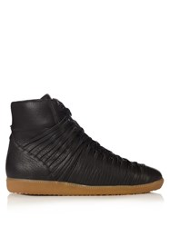 Damir Doma Follet Leather Ankle Boots Black