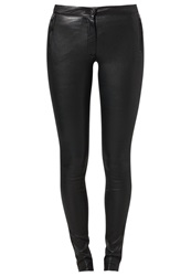 Michalsky Leather Trousers Black