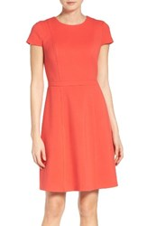 Eliza J Women's Fit And Flare Dress Red
